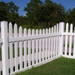 Decorative board for fencing
